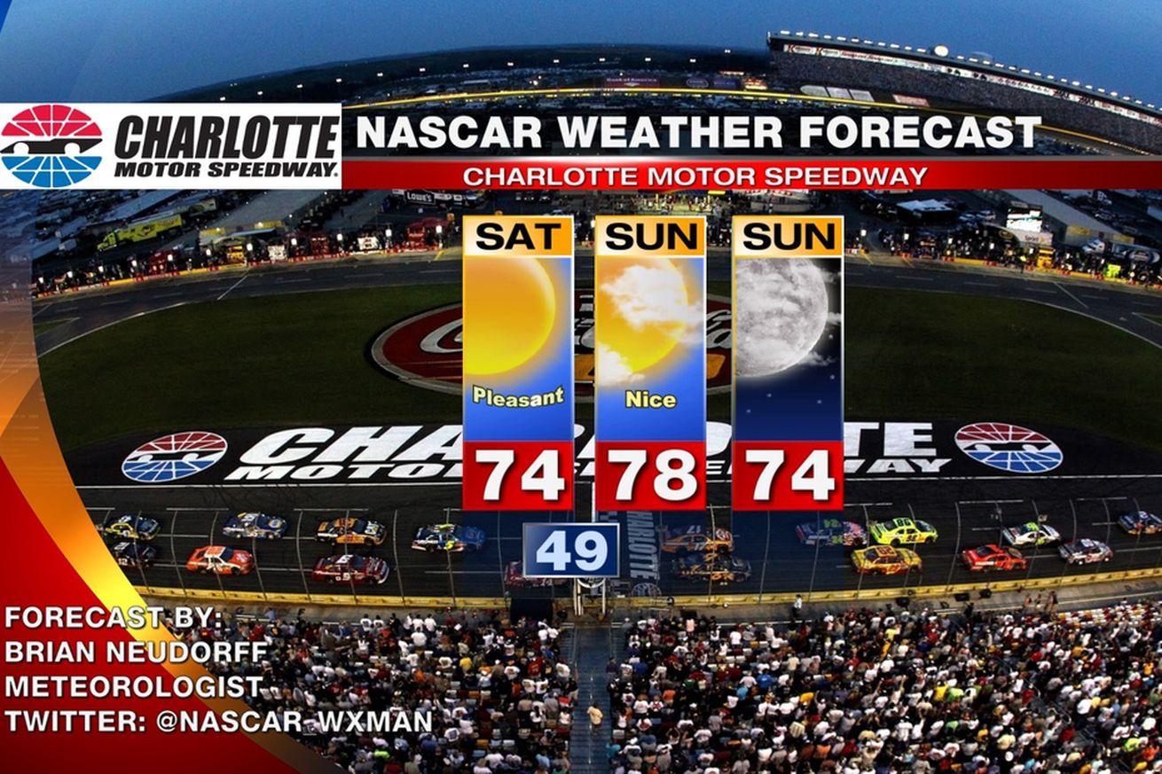 2013 Nascar At Charlotte Motor Speedway Race Weekend