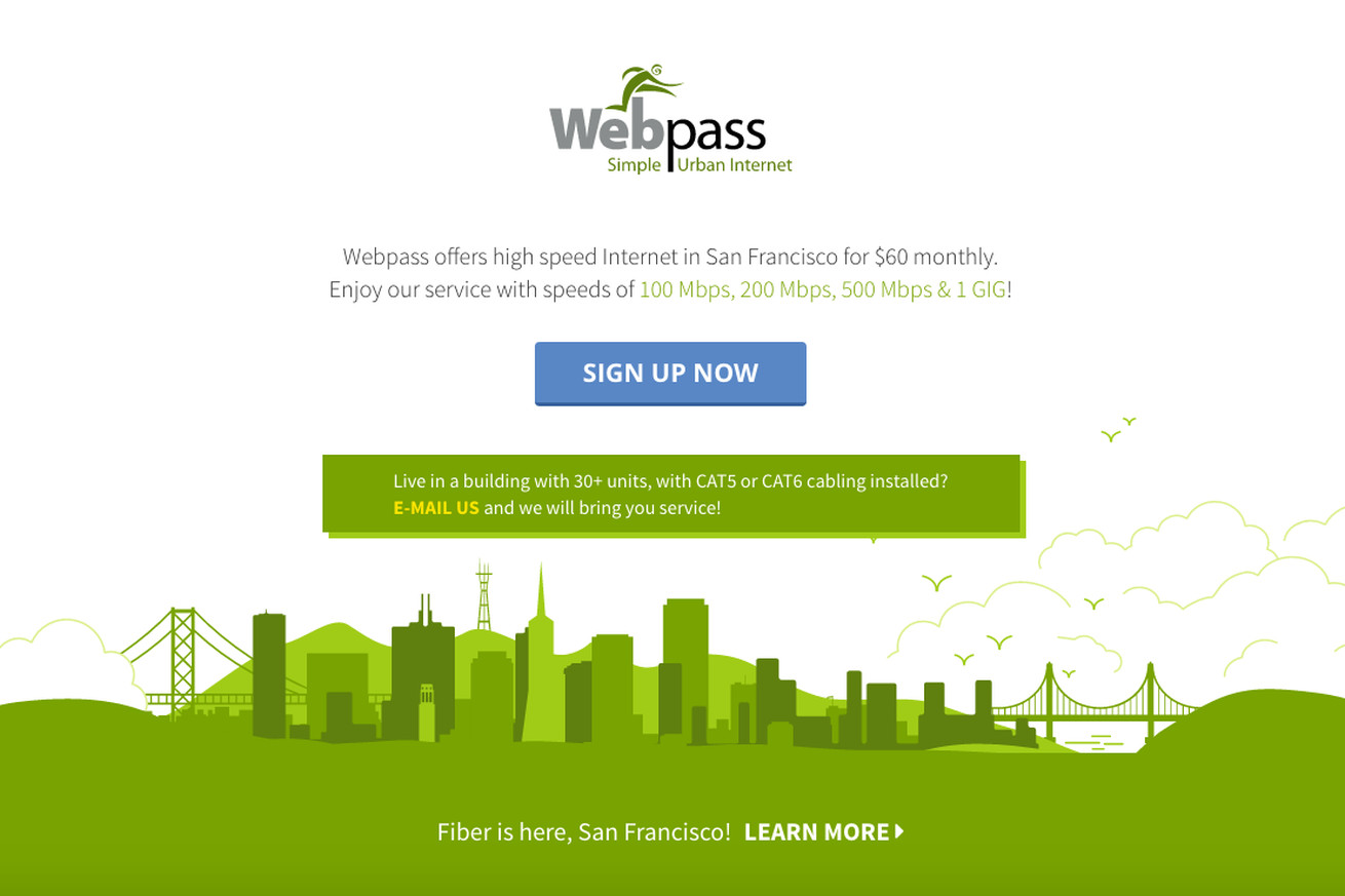 google fiber owned webpass is bringing its wireless gigabit internet to denver