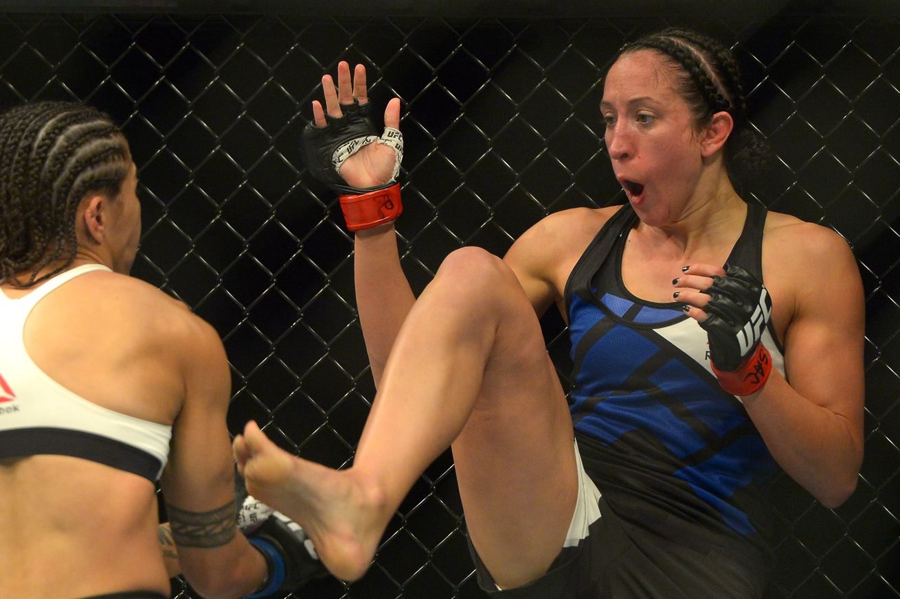 UFC strawweight Jessica Penne flagged for anti doping violation