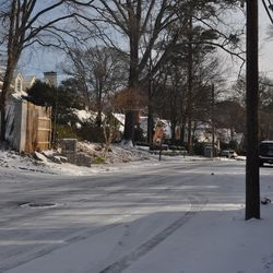 The residential streets of Buckhead were downright serene.