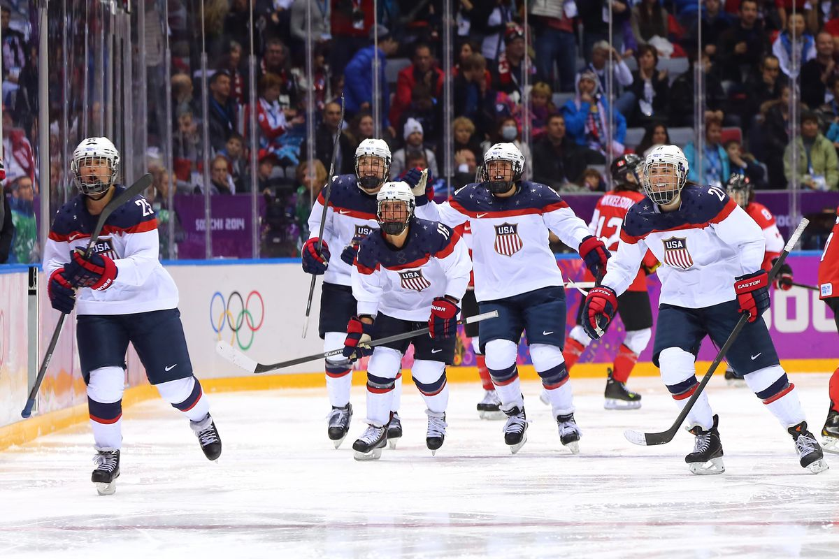 USA  women's hockey to boycott world championships over wage dispute