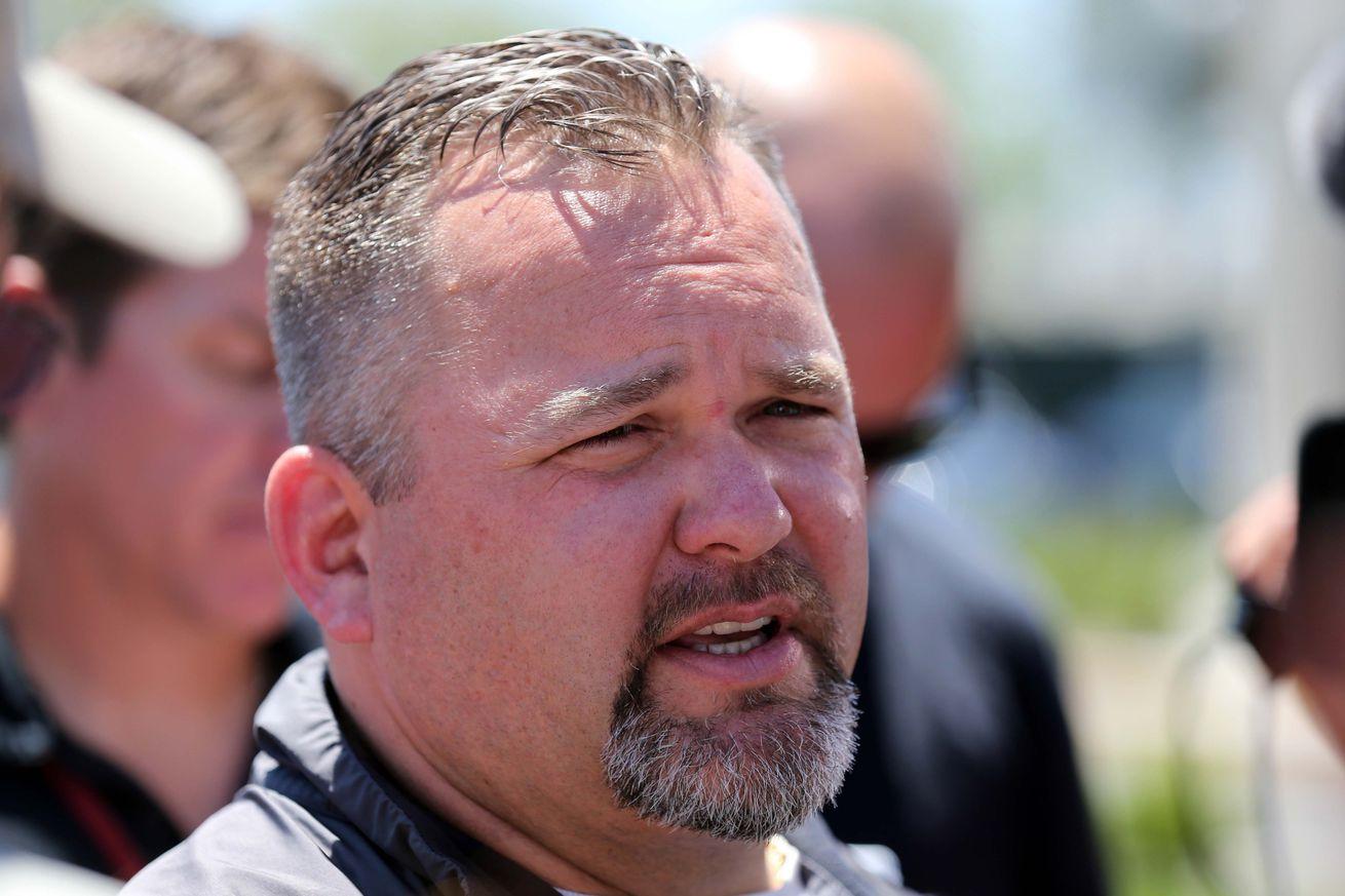 Wholesale NFL Jerseys cheap - Greg Roman talks Derek Carrier, offensive line, Stevie Johnson and ...