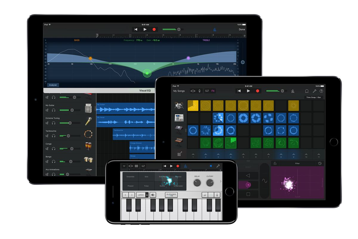 GarageBand, iWork, and iMovie now free for all iOS and Mac users