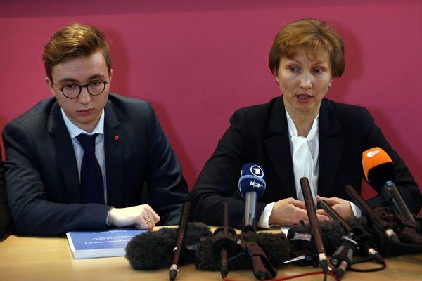 Marina Litvinenko and her son Anatoly.