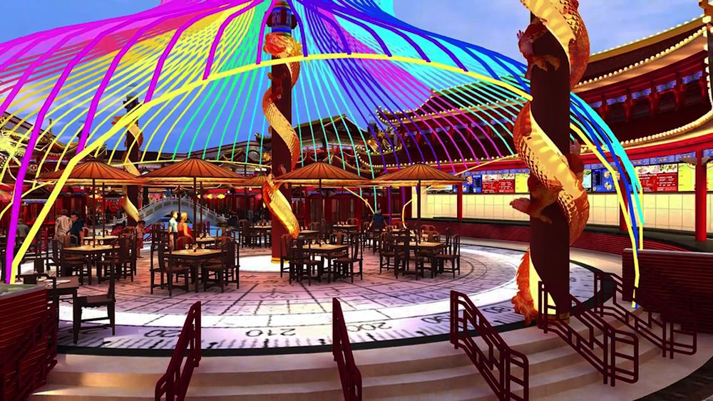 First Peek Resorts World Las Vegas Dining And Nightclub Eater Vegas