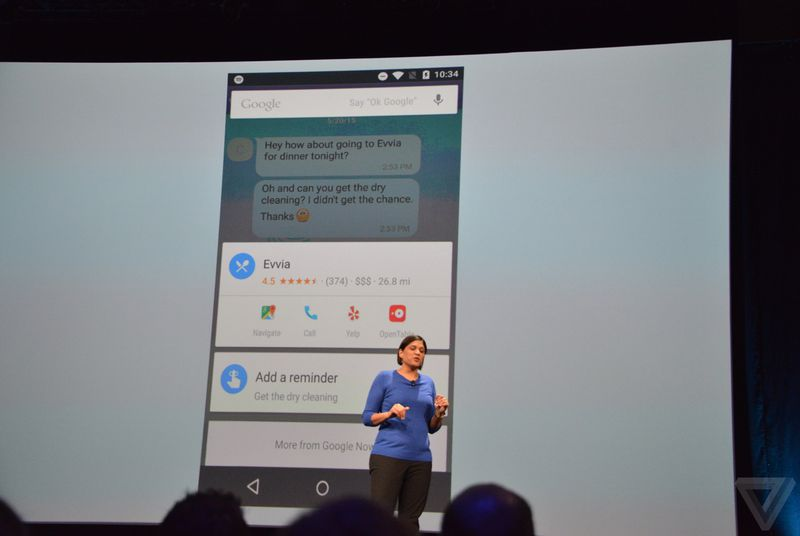 Google Now gets smarter with 'Now on Tap' and ability to work inside apps