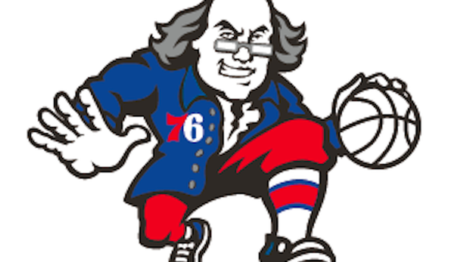 The 76ers Appear To Have A New Dribbling Ben Franklin Logo