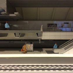 A conceptual model of the Second Avenue Subway's 86th Street station