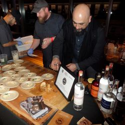 District Distilling was pouring an endless stream of the alcohol it produces on neighboring U Street.