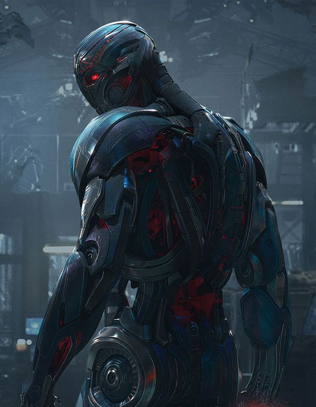 'Avengers: Age of Ultron' James Spader without visual ... |Ultron Avengers Age Of Ultron