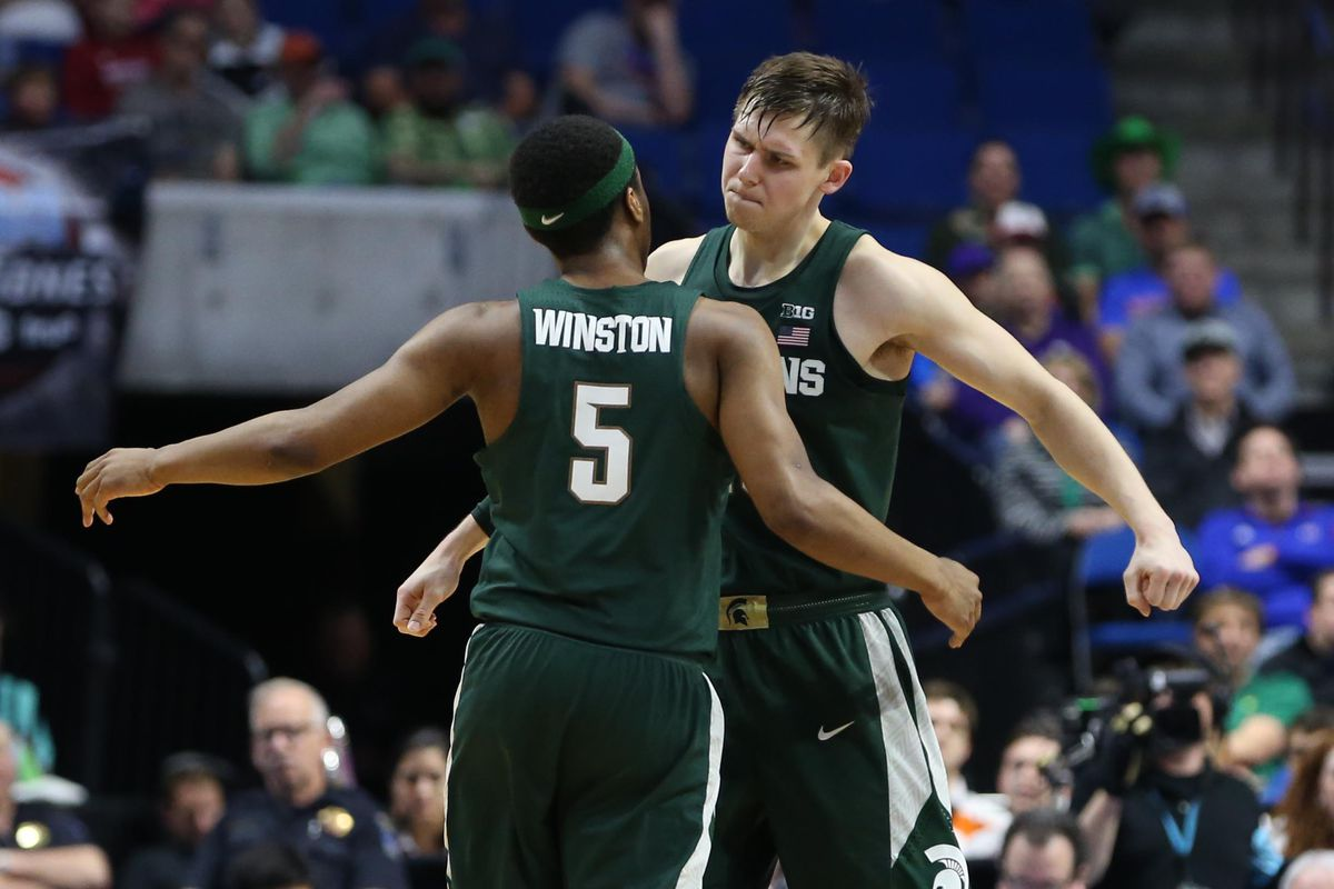 March Madness: Kansas defeats Michigan State to advance to Sweet 16
