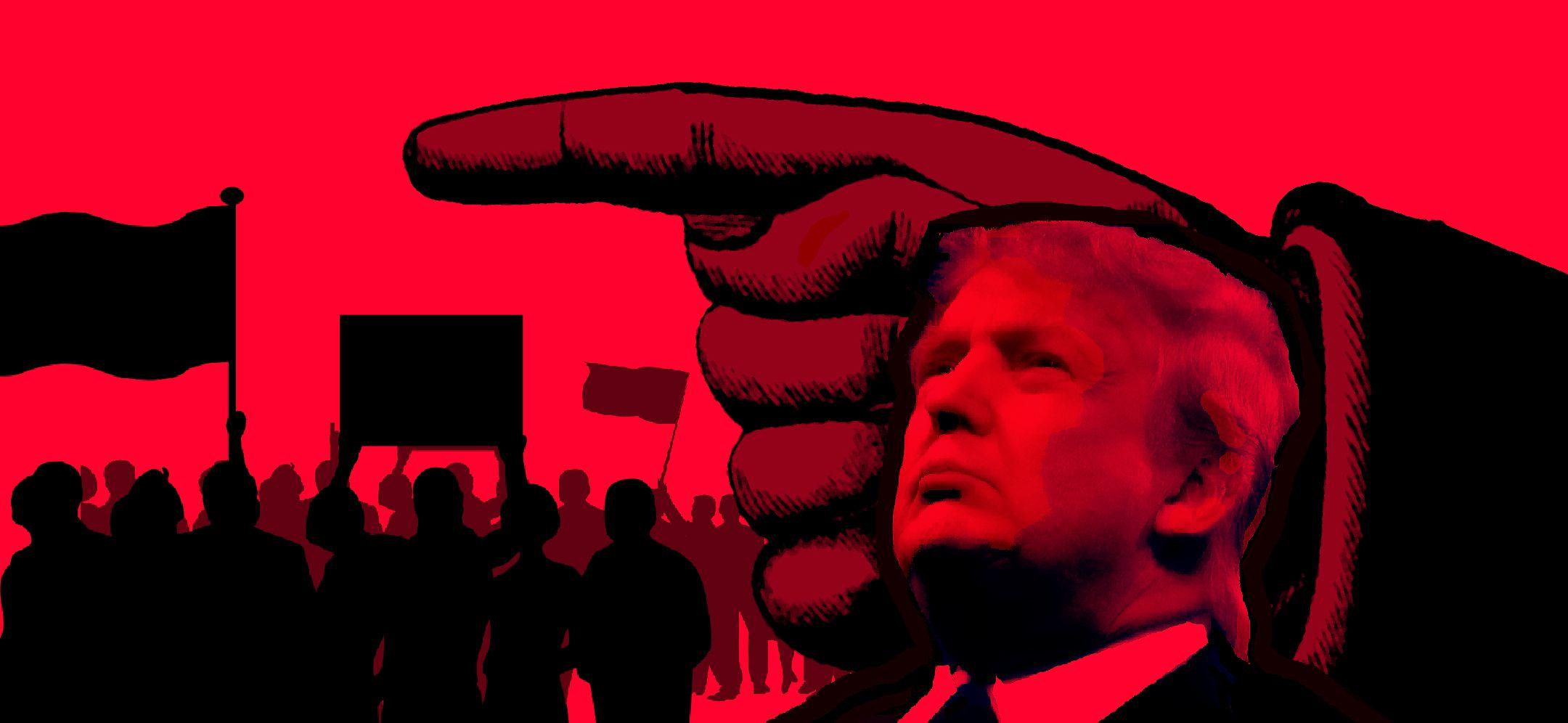Resultado de imagem para trump authoritarian