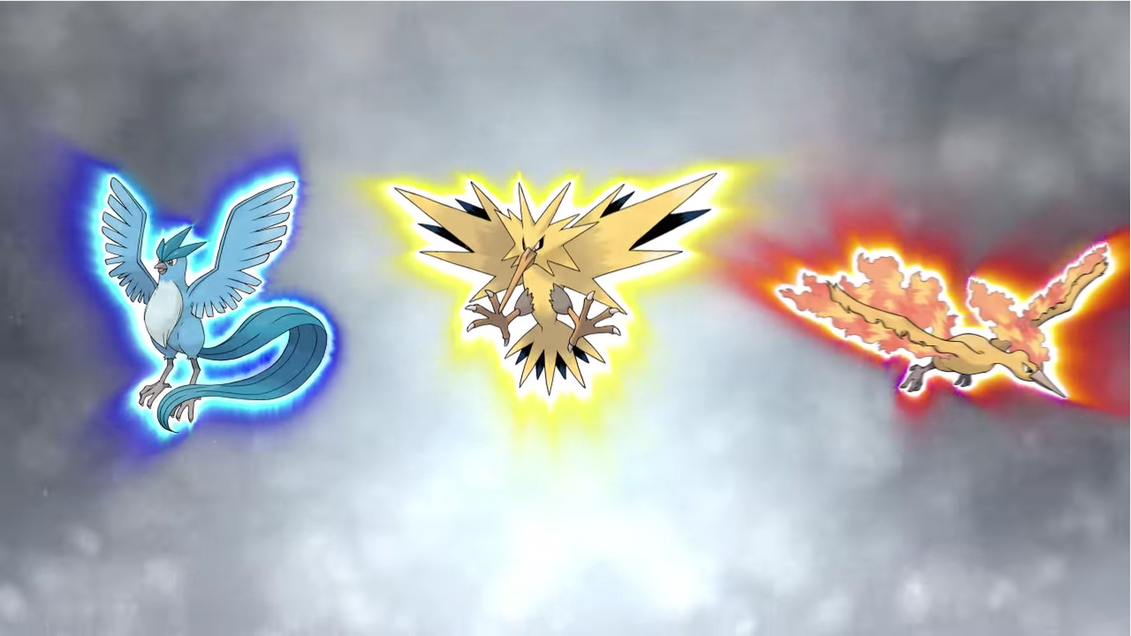 4 Legendary Birds Pokemon Images | Pokemon Images