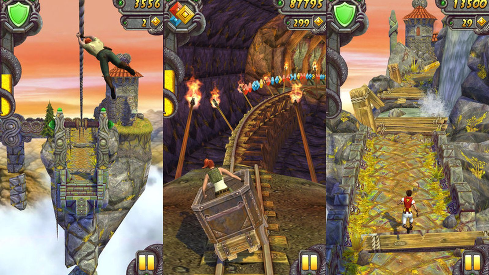 Phone Temple Run For Android Phones temple run 2 coming to android next week ios download available now the verge