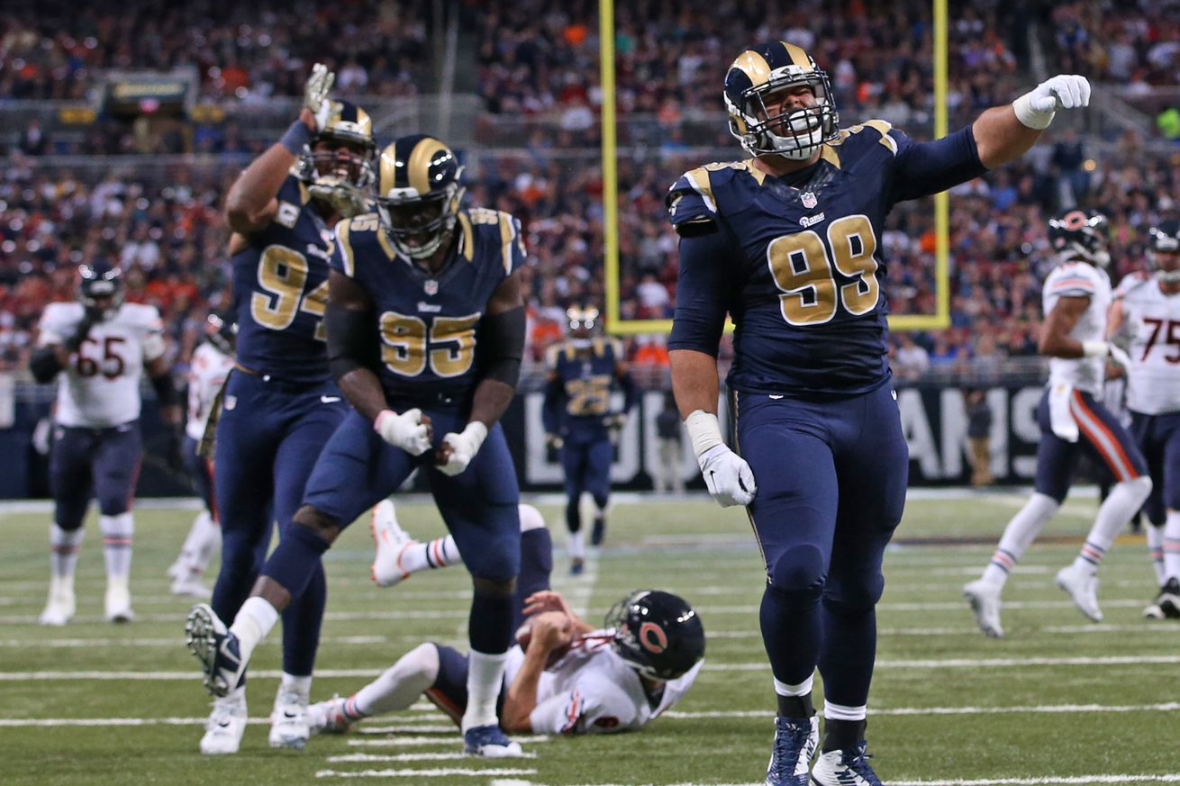 NFL Jerseys Online - Los Angeles Rams Go Unmentioned on NFL.com's List of Fiercest ...