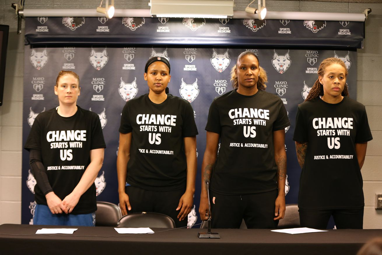 Image result for Minnesota Lynx Players justice