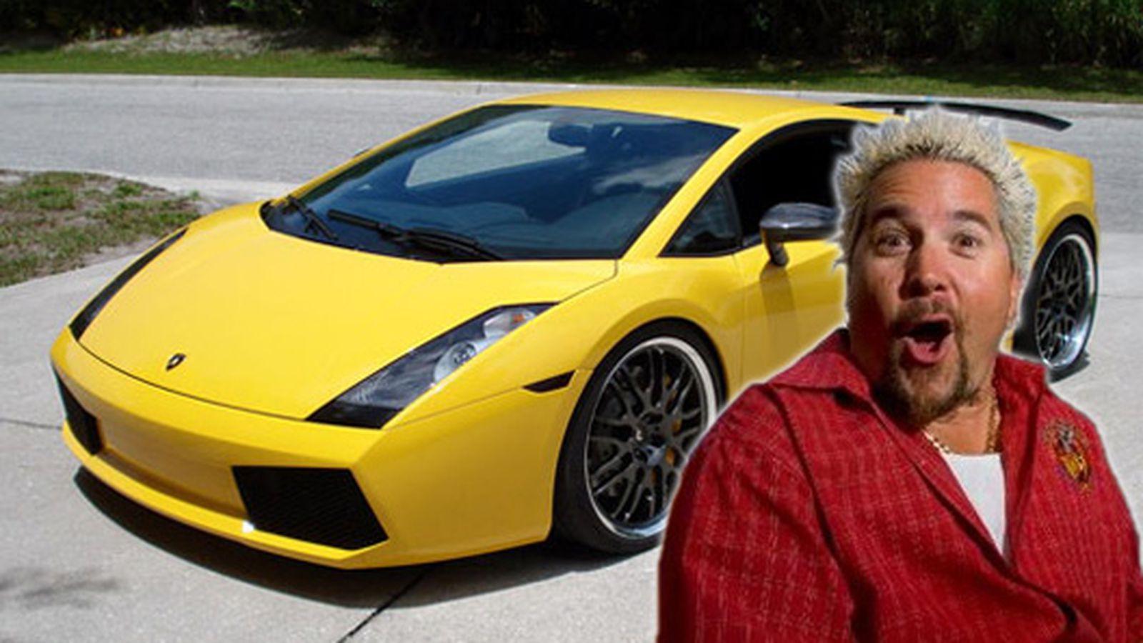Guy Fieri S 200k Lamborghini Stolen In Elaborate Heist