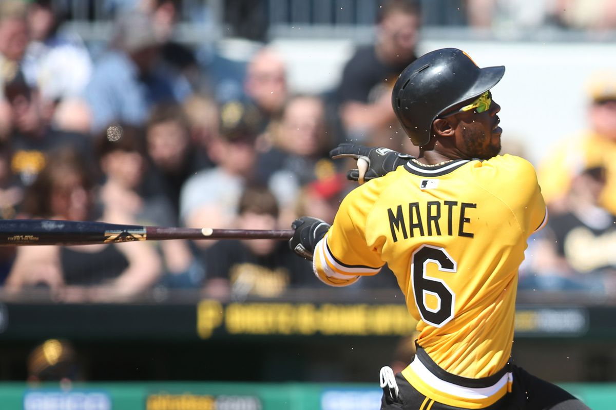 Pittsburgh Pirates CF Starling Marte suspended 80 games for PED use