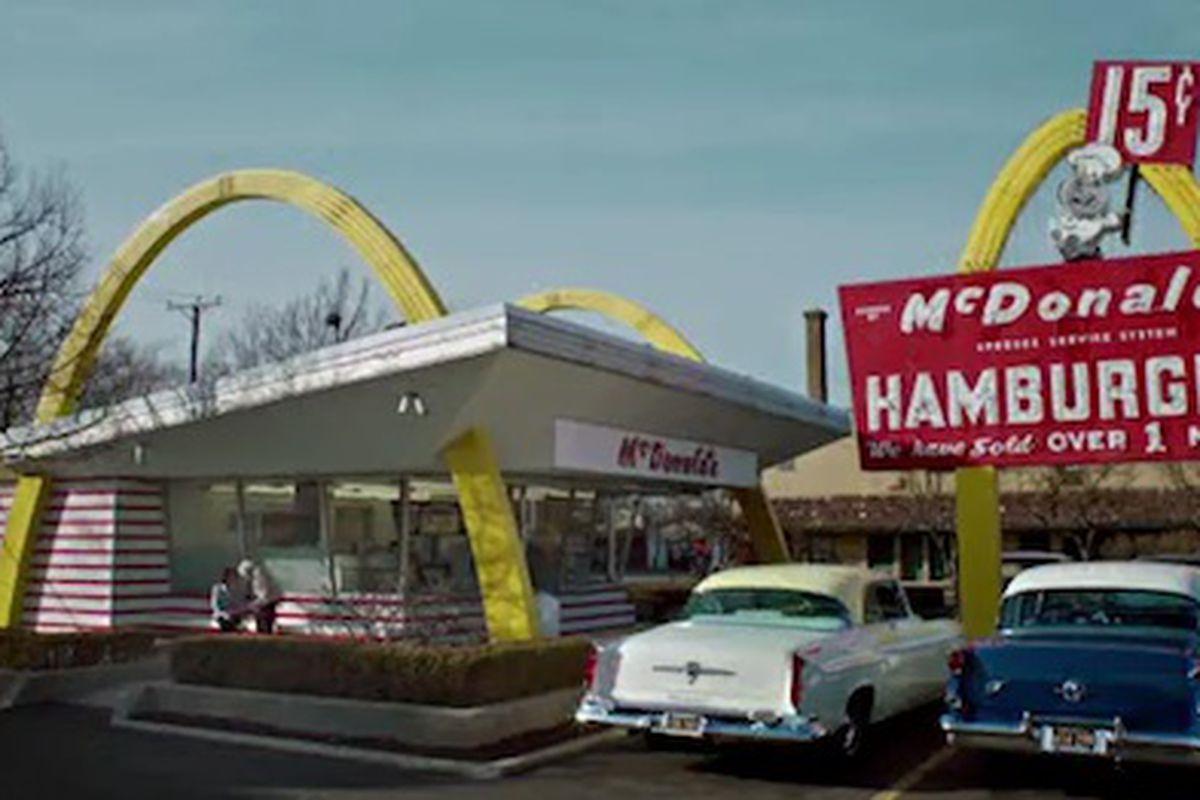 Резултат с изображение за McDonald's 1955