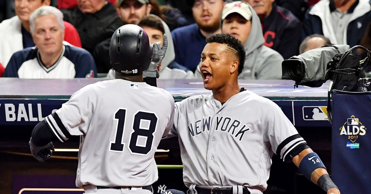 Yankees win 3 straight games in ALDS to beat the Indians