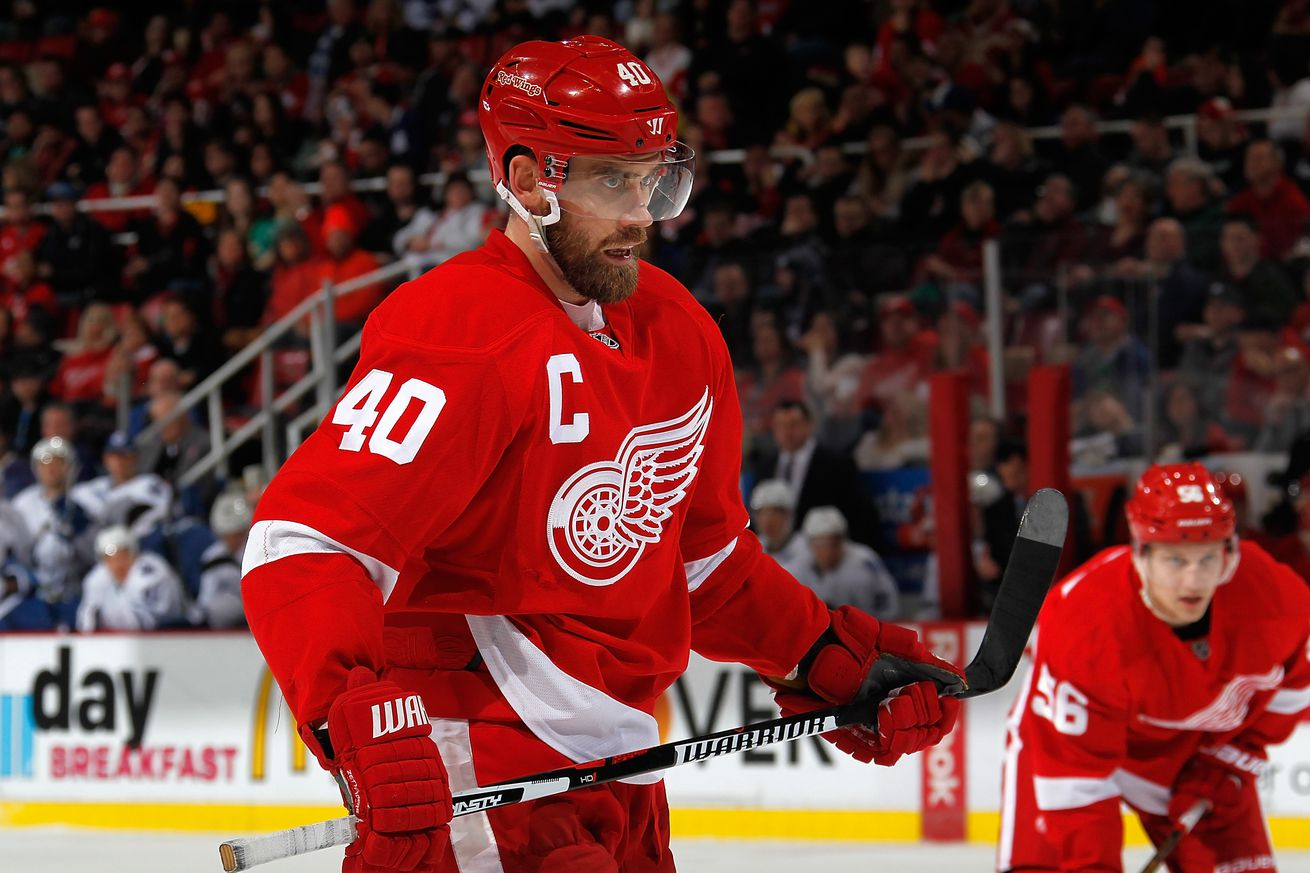 Henrik Zetterberg out of the World Cup of Hockey