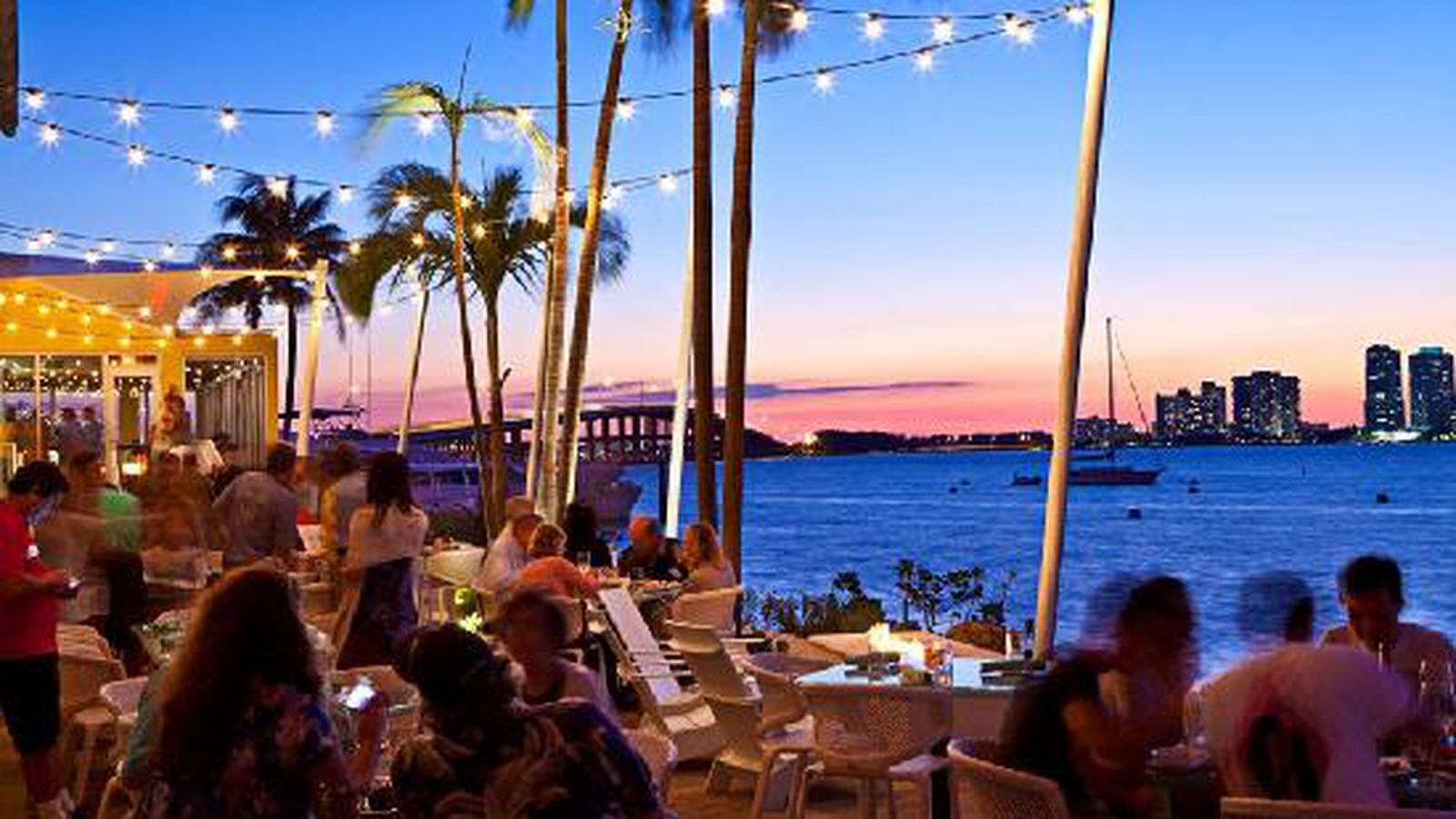 Waterfront dining in miami 12 great spots eater miami for Garcia s seafood grille fish market miami fl