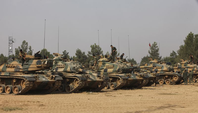 Turkish Military Continue Major Offensive Against IS In Syria
