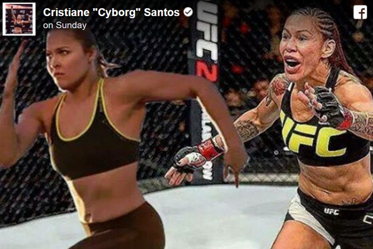 Cris Cyborg wants Ronda Rousey at UFC 205 in New York    unless Rowdy is too scared