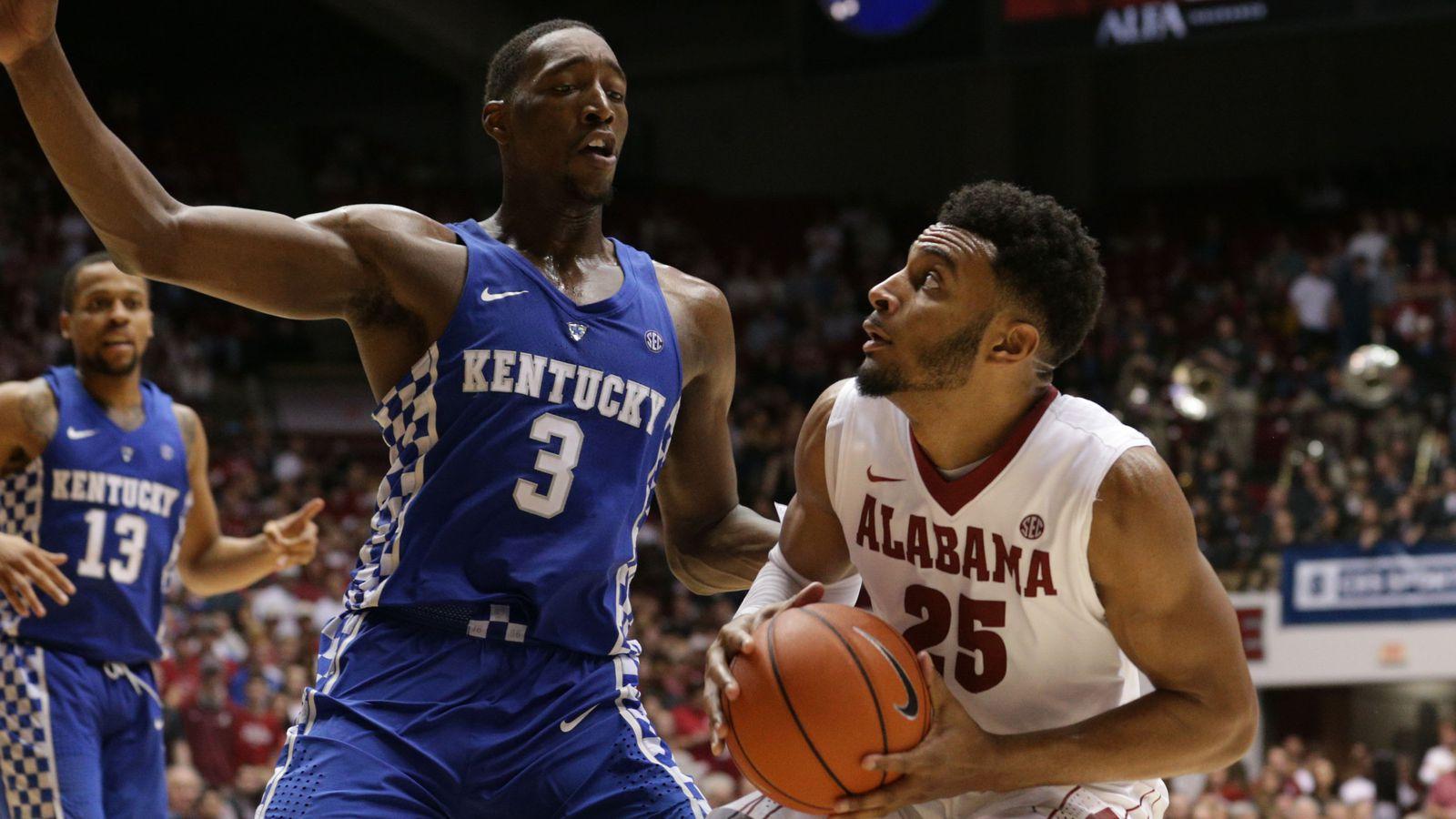 Uk Basketball: Kentucky Basketball Vs Alabama Crimson Tide: Game Time, TV