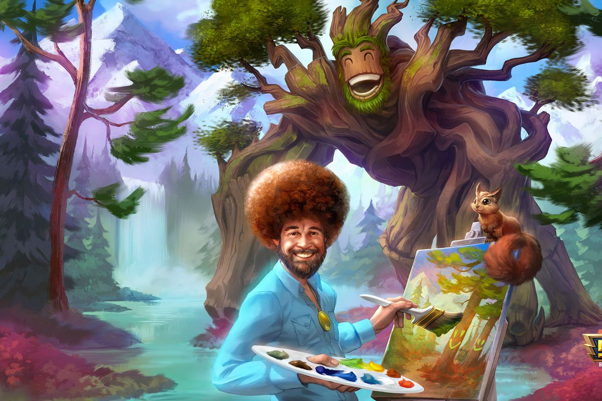 'Smite' Bob Ross: How to get the docile painter in this MOBA