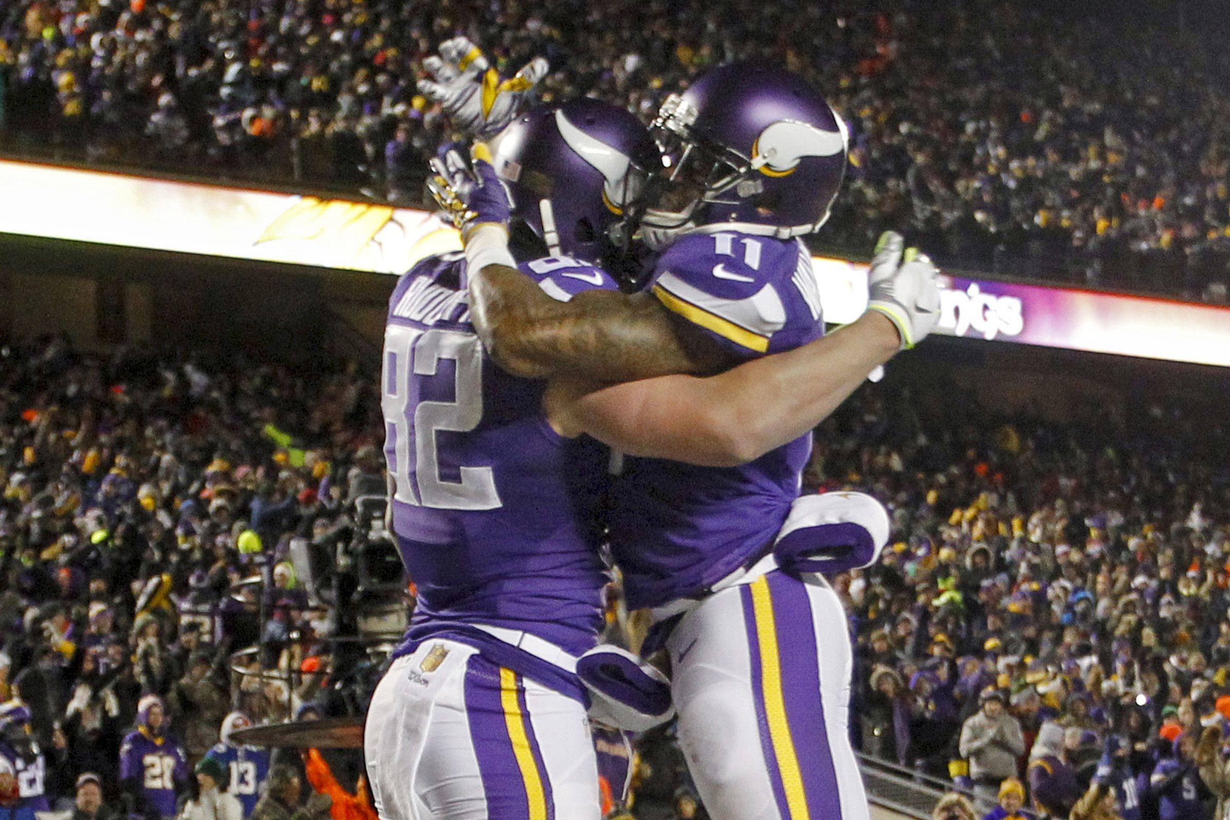 Temperatures near zero expected for Seahawks-Vikings playoff game