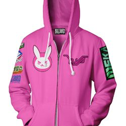 A D.Va inspired hoodie will be out in July.