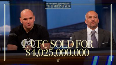 Top MMA storylines of 2016: 1. UFC sold for $4 billion
