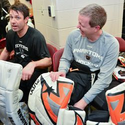 It's a goalie thing