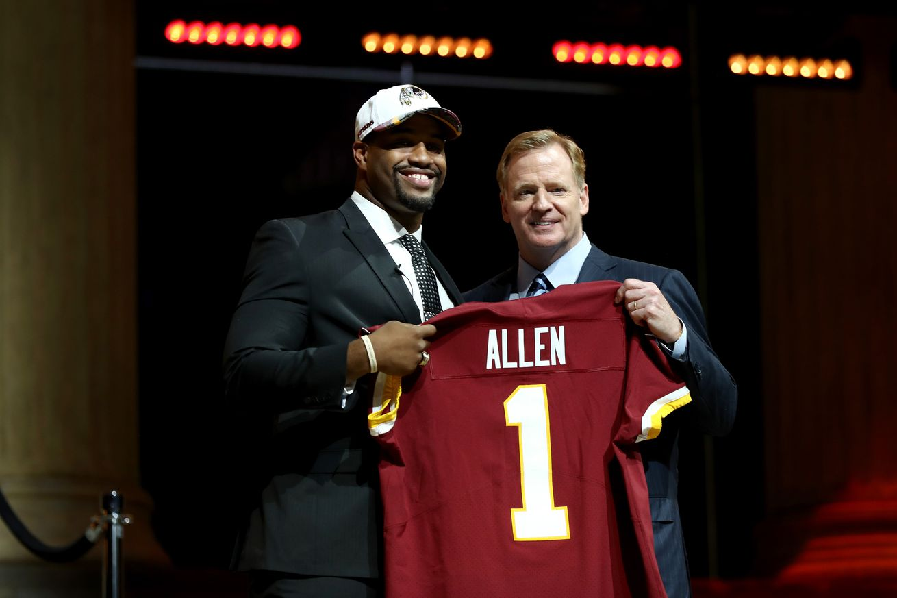 Which new Redskins player are you most excited about?
