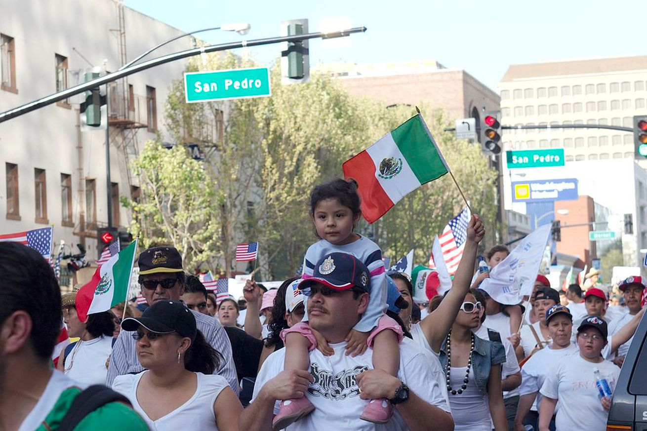 Image result for Mexicans demonstrating in U.S. pictures