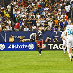 Dom Dwyer came in for the second half and scored the MLS All-Stars' only goal.
