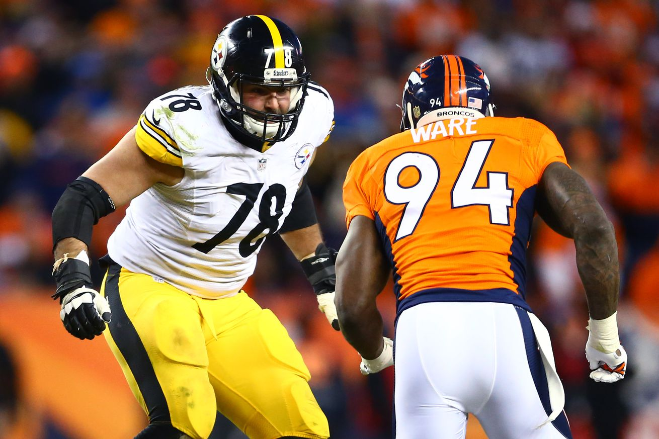 Steelers Film Room: Alejandro Villanueva is ready to be the starting left tackle in 2016