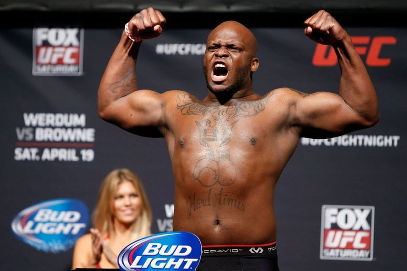 Derrick Lewis wants to silence 'overhyped' Francis Ngannou for constantly 'talking sh*t'