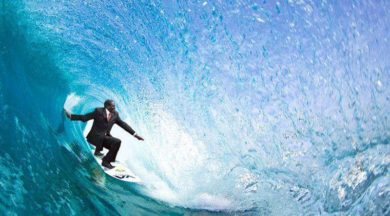 Mugabefalls surf