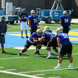 2017 UCLA Football Fall Practice #4 8/5/17