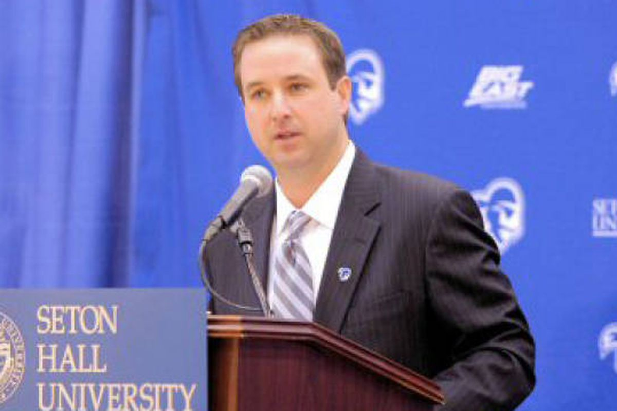 a conversation seton hall athletic director pat lyons q a seton hall athletic director pat lyons had no easy task when he took over the ad position some three years ago in that time he has focused on increasing