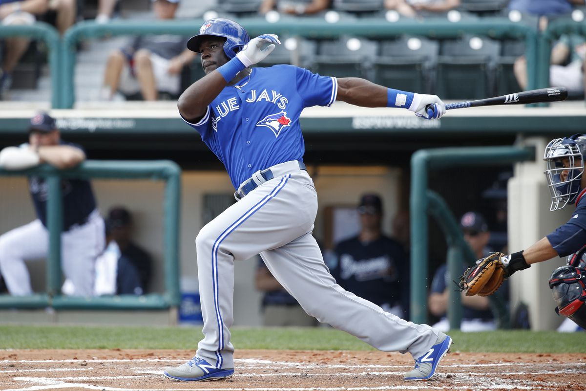 Toronto Blue Jays will reportedly call up prospect Anthony Alford