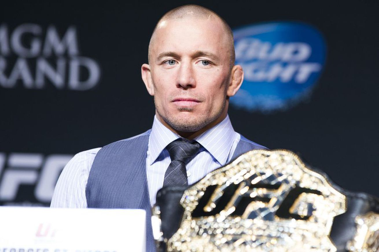 community news, Georges St Pierre vs. Michael Bisping slated for UFC middleweight title fight