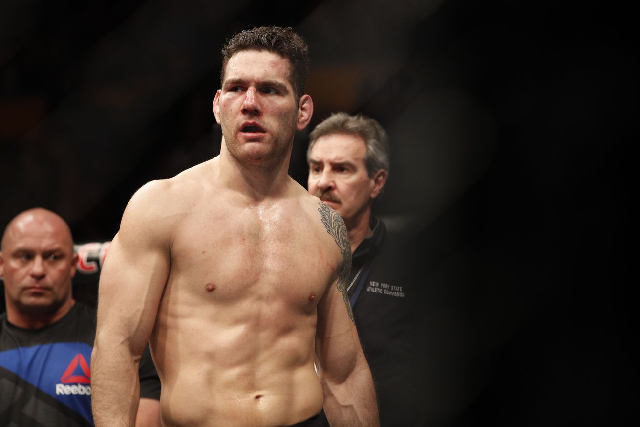 community news, Audio from Chris Weidman's corner during his UFC 210 fight featured a lot of four letter words