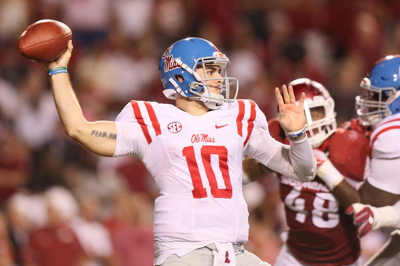 Chad Kelly to NFL GMs: 'I play with a swag they've never seen before.'