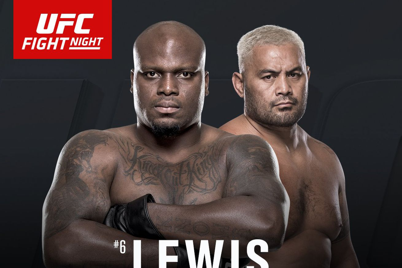community news, Latest UFC Fight Night 110 fight card, rumors, and updates for 'Lewis vs Hunt' on June 10 in New Zealand