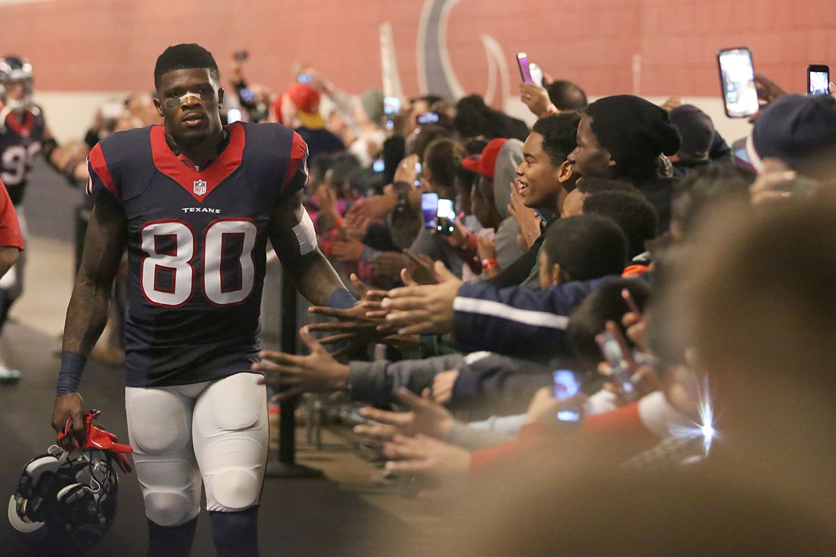 Andre Johnson retires as a Texan