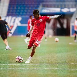 Murillo made his pro debut in Panama at 18 years old, and his national team debut in 2016. In 2017, he gets his NYRB II (as a prelude to his RBNY debut, we assume).