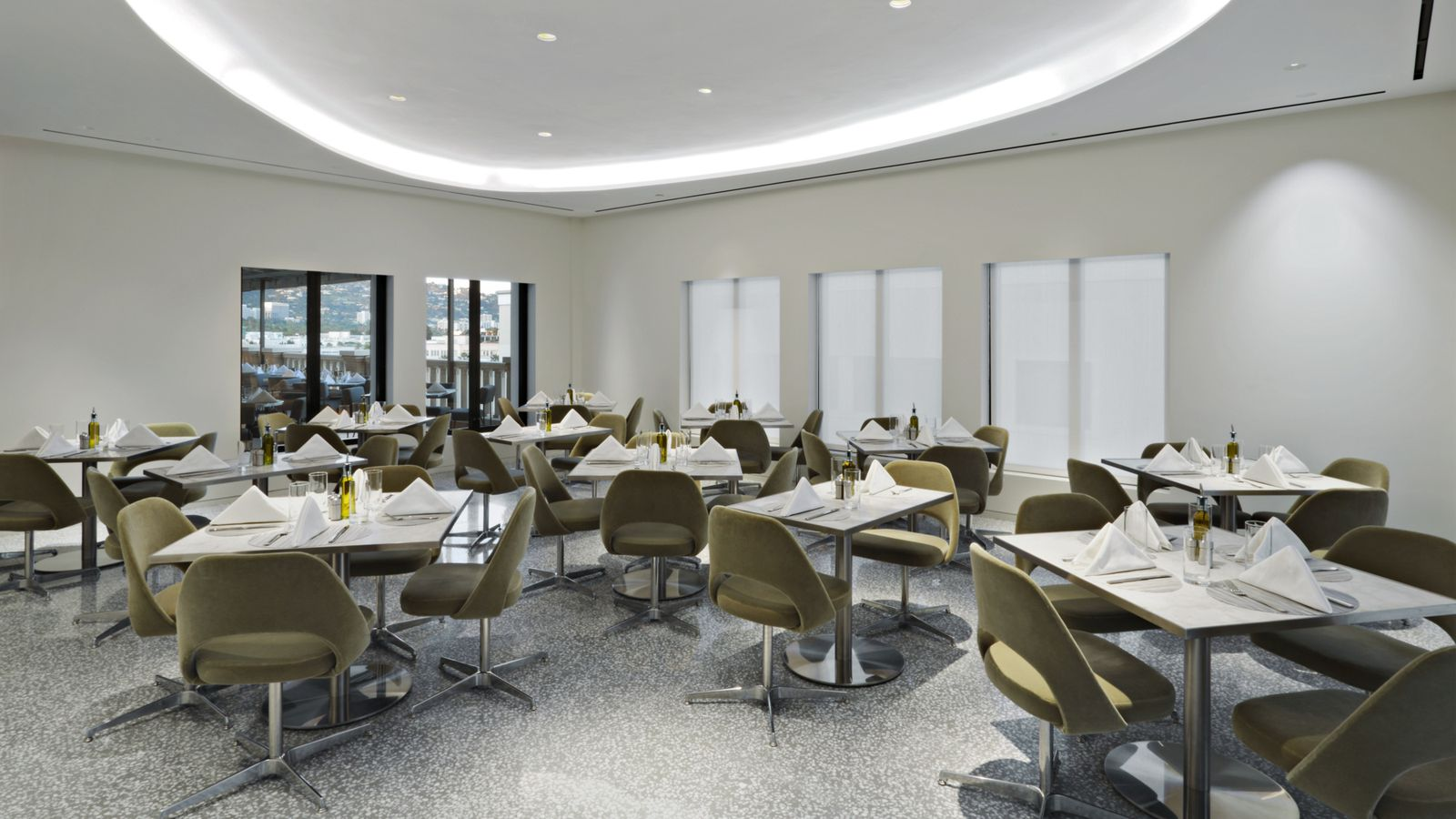 swanky new power lunch spot atop barney 39 s in beverly hills eater la